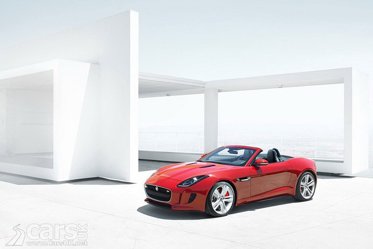Jaguar F-Type Leak