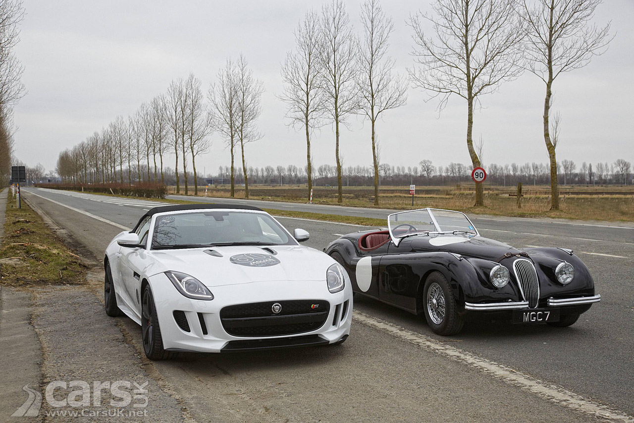 Jaguar F-Type V8 S & XK 120 picture
