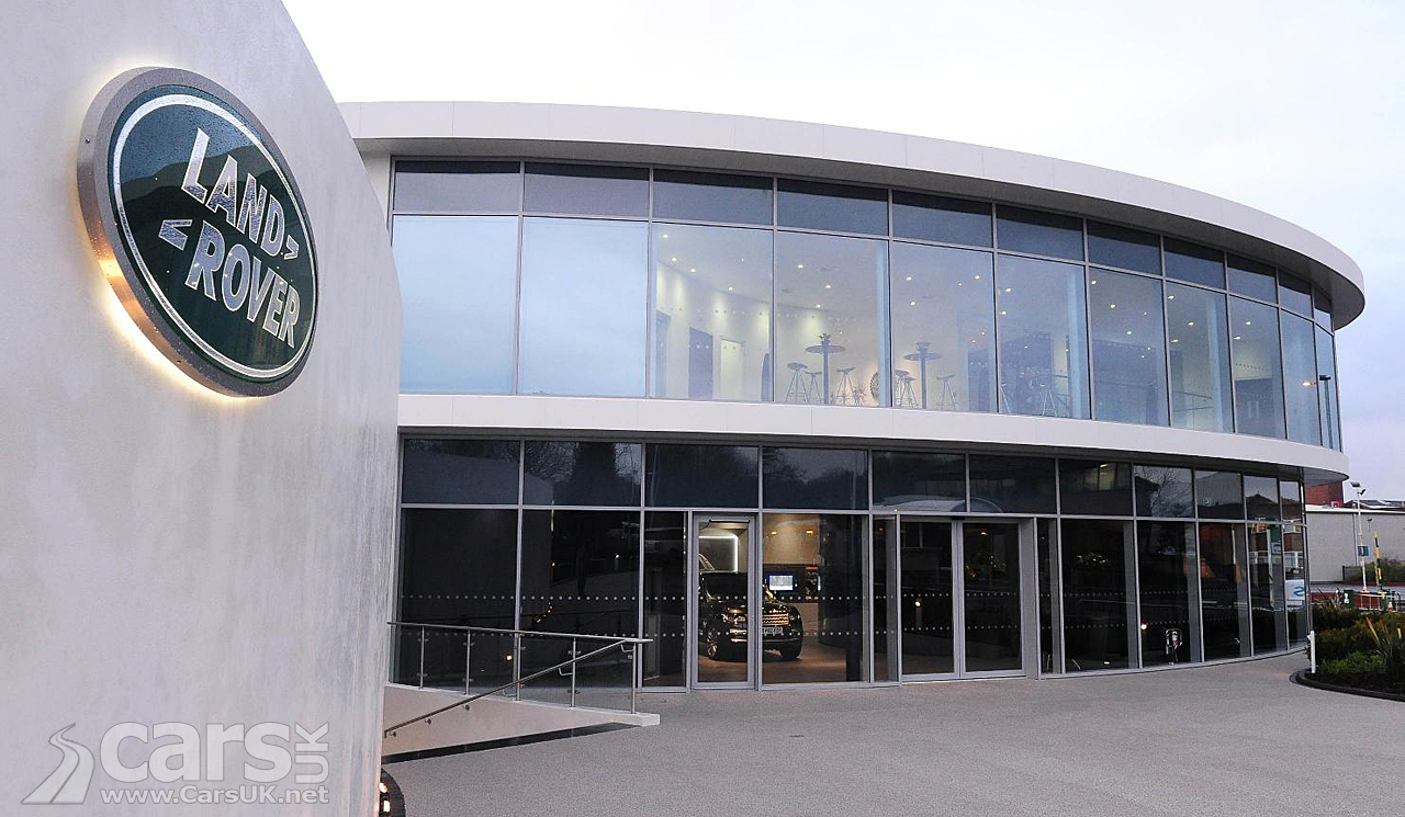Photos Jaguar Land Rover Handover Centre