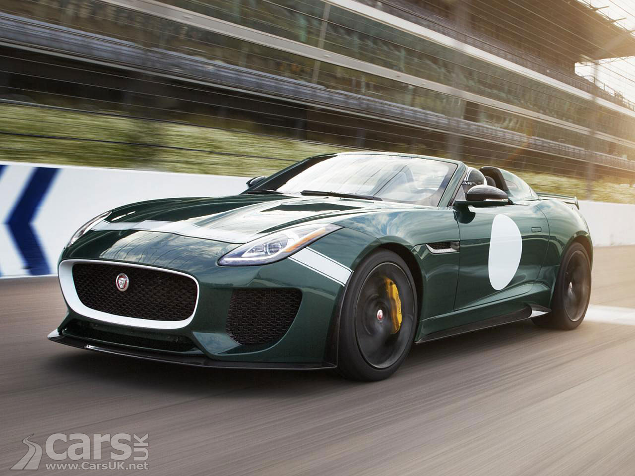 version of the Jaguar Project 7 F-Type, a limited edition F-Type