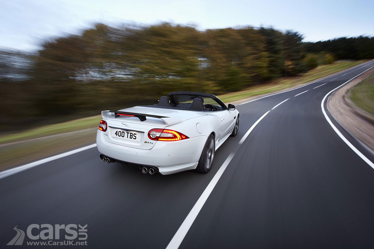 Jaguar XKR-S Convertible 1