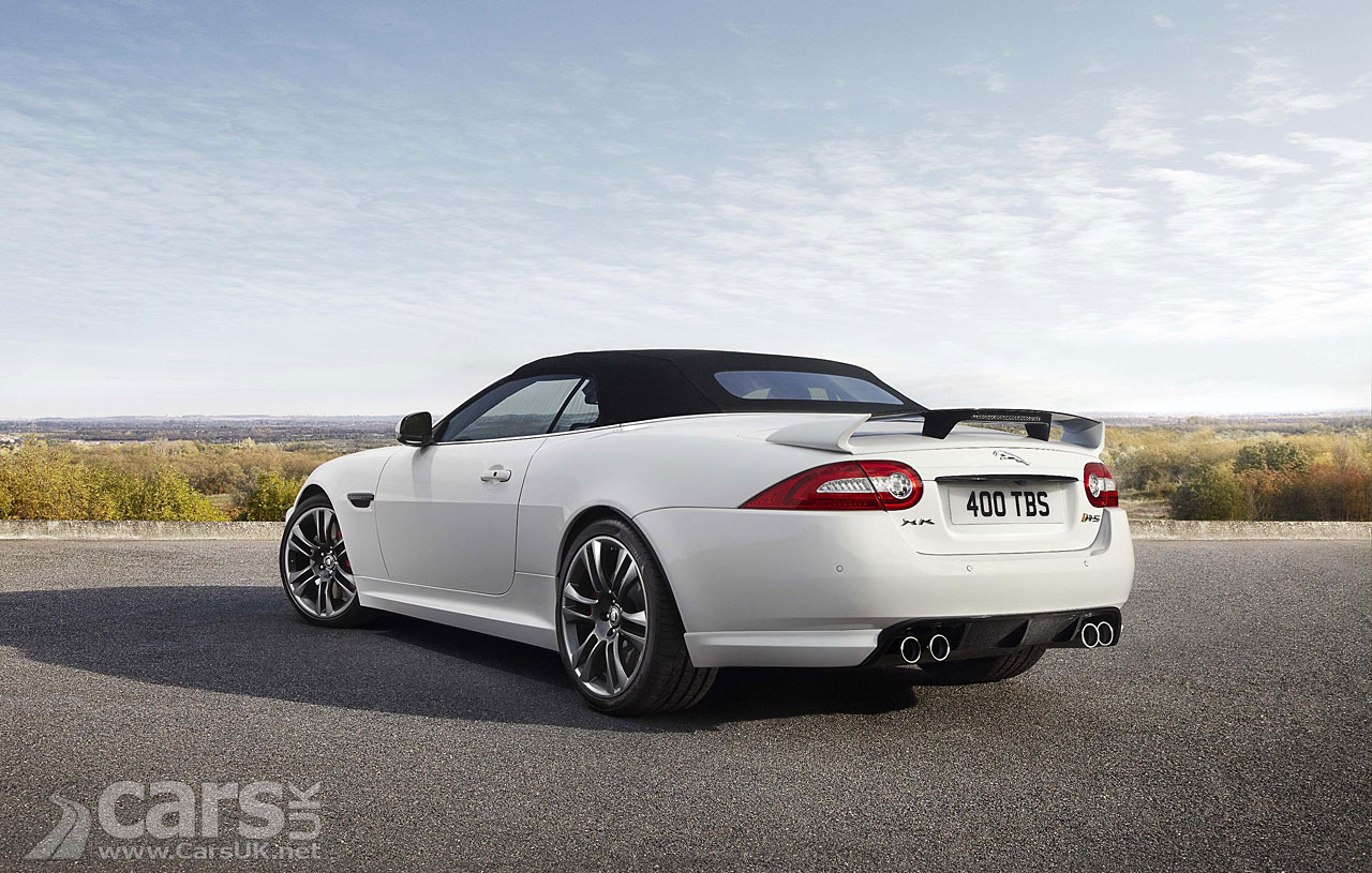 Jaguar XKR-S Convertible 6