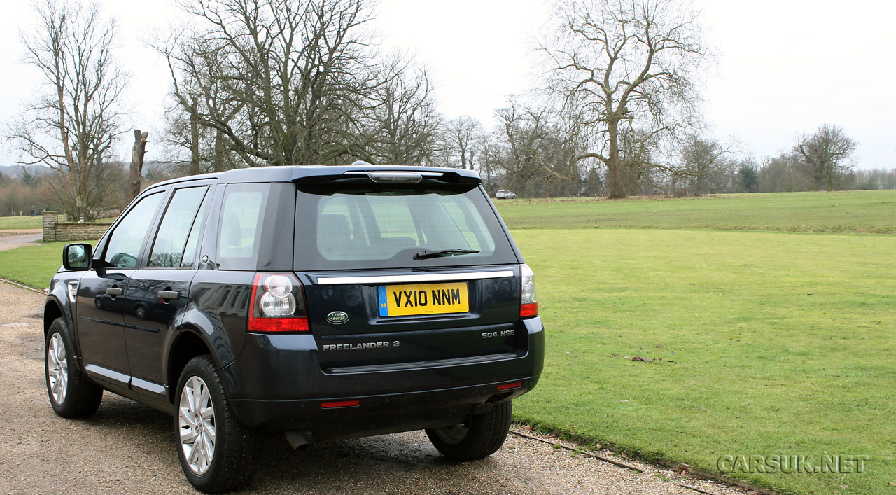 Land Rover Freelander 2 Sd4 Hse Photo Gallery Cars Uk