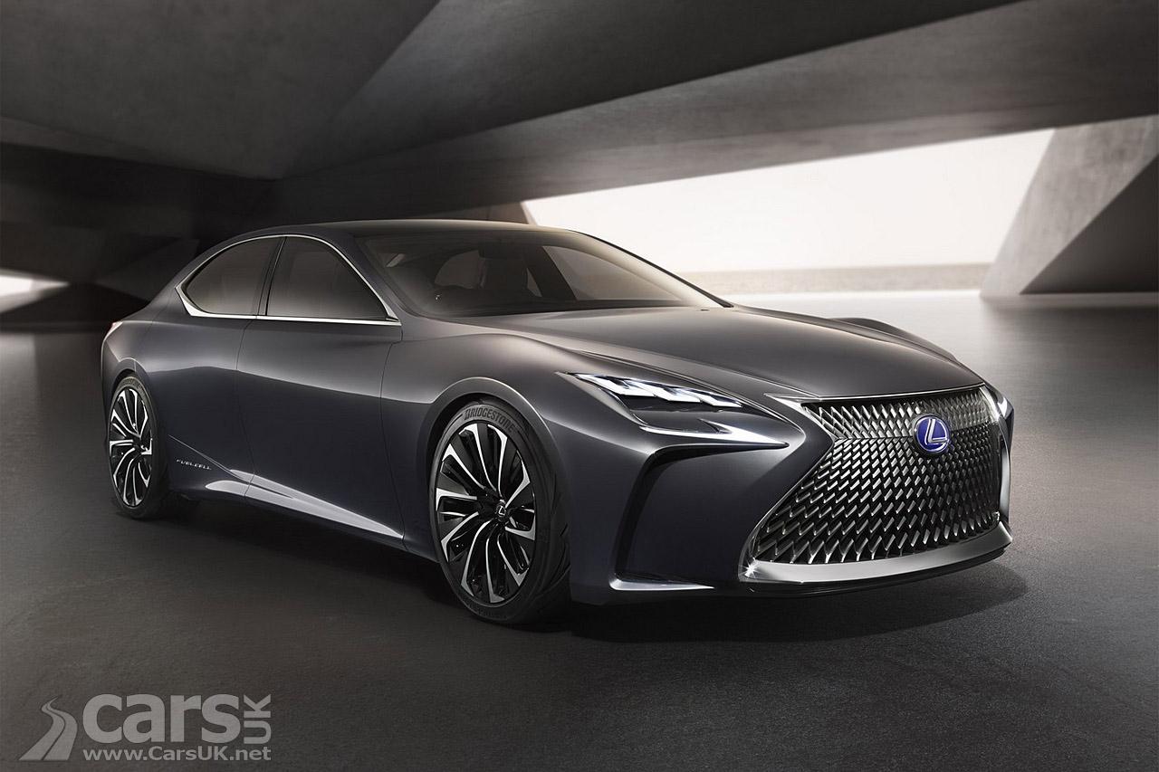Lexus Lf Fc Concept Photos Cars Uk