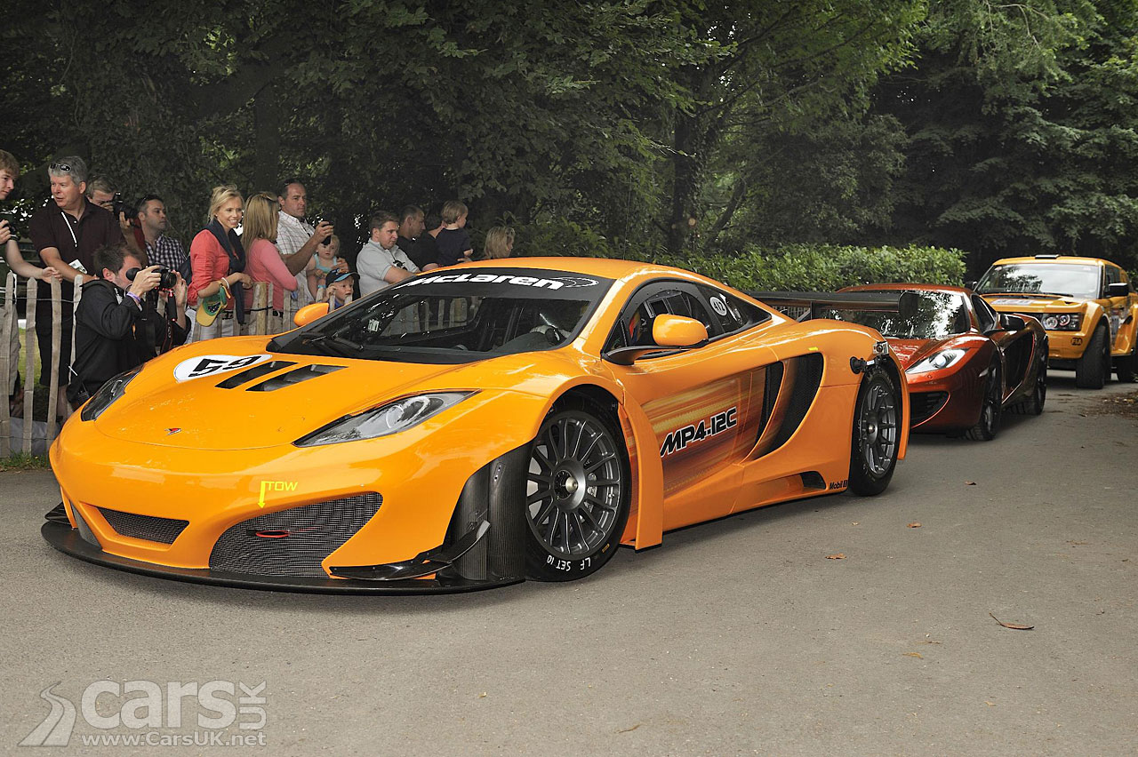 McLaren at Goodwood Festival