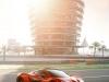 McLaren P1 Bahrain side view tower