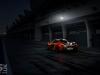 McLaren P1 Bahrain rear view in pits at night image