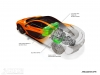 McLaren P1 powertrain image