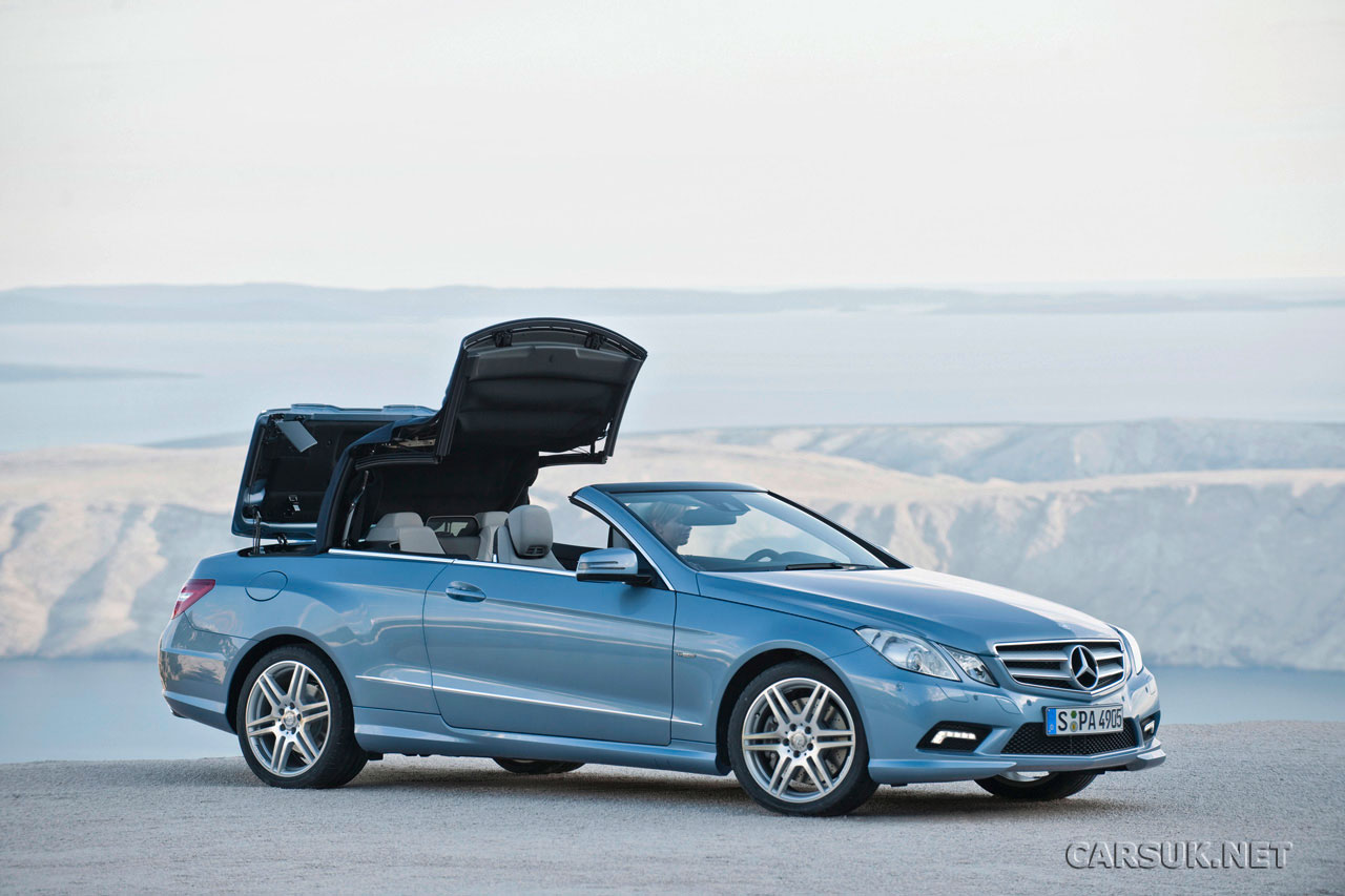 mercedes e class cabriolet 2010 2011 official. Black Bedroom Furniture Sets. Home Design Ideas
