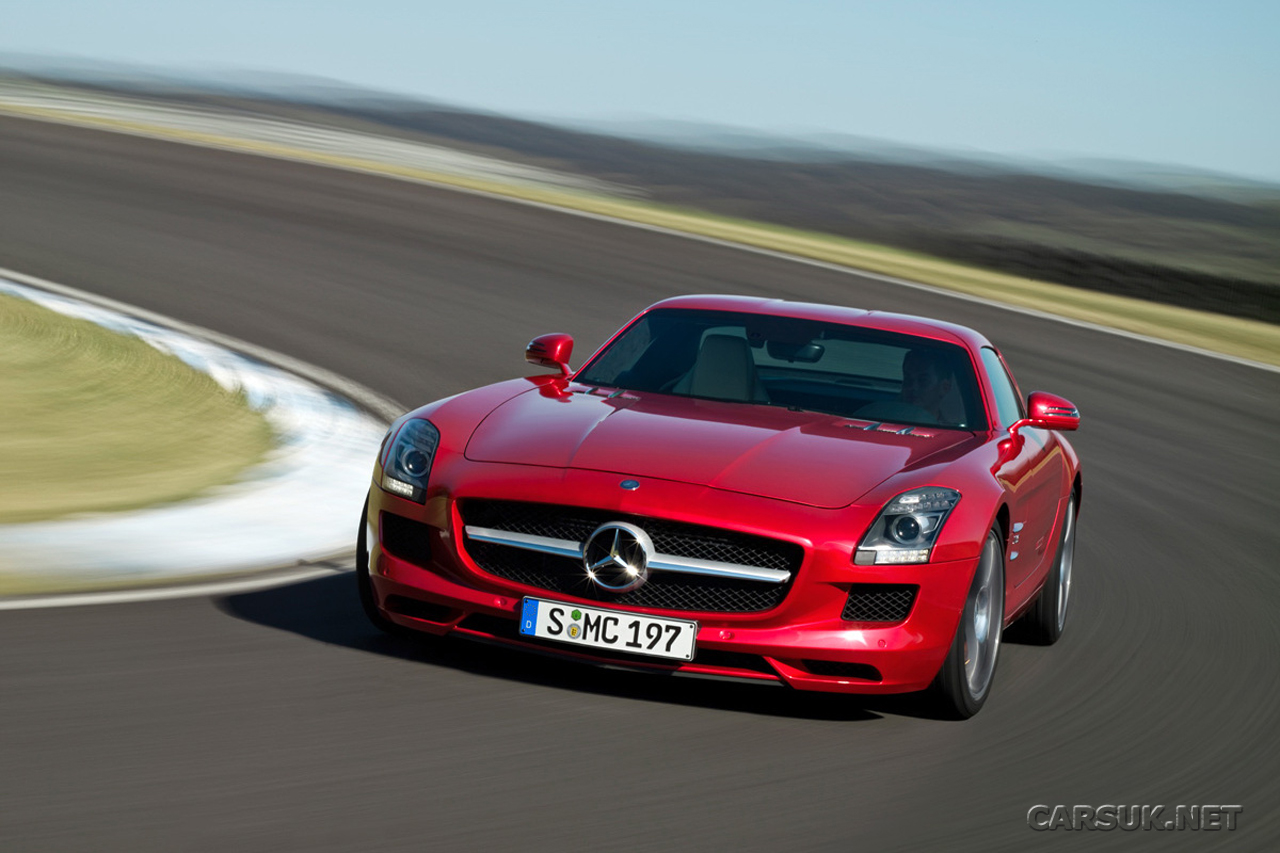 Mercedes sls amg gullwing the website for Mercedes benz official site