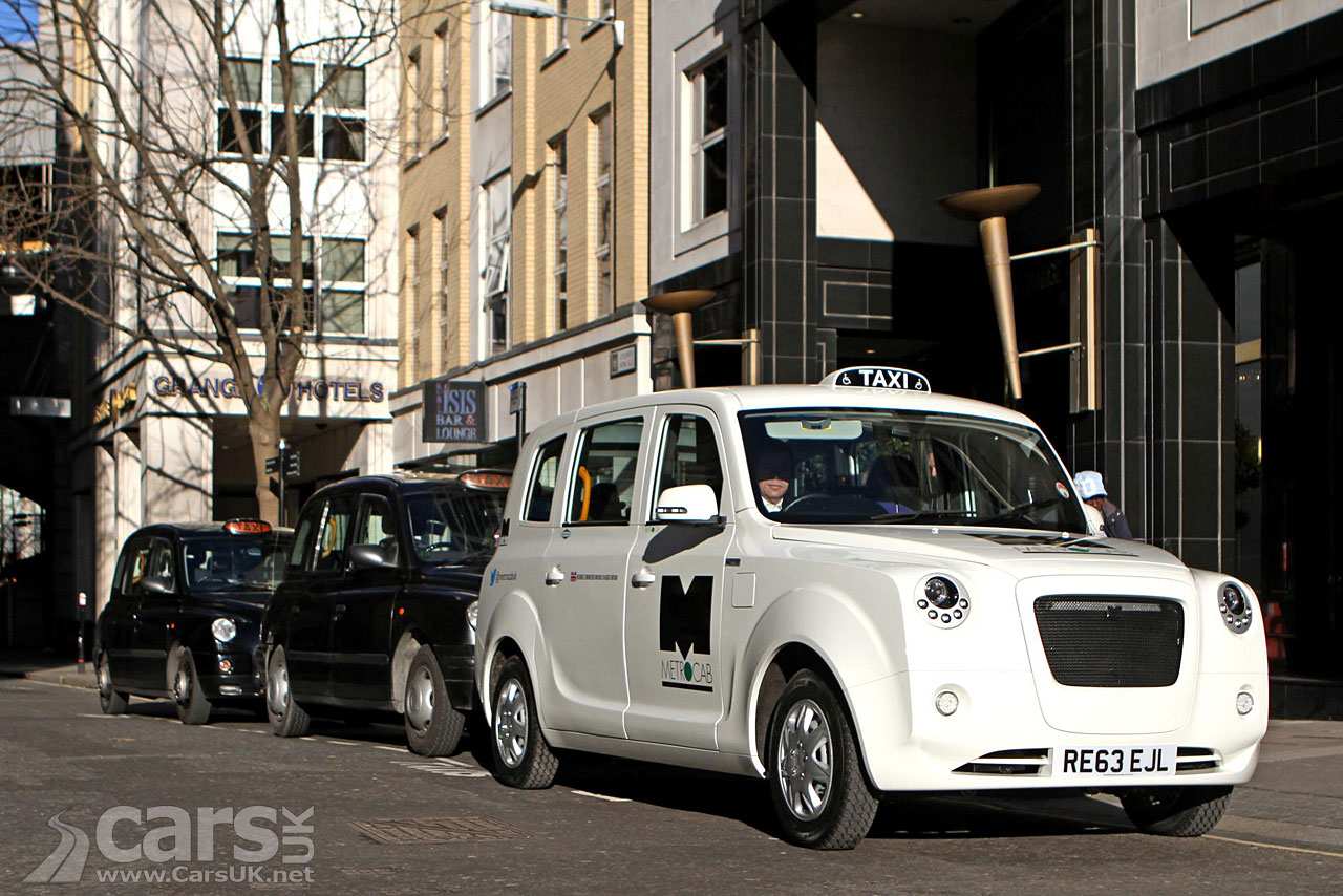 Metrocab Range Extender London Taxi