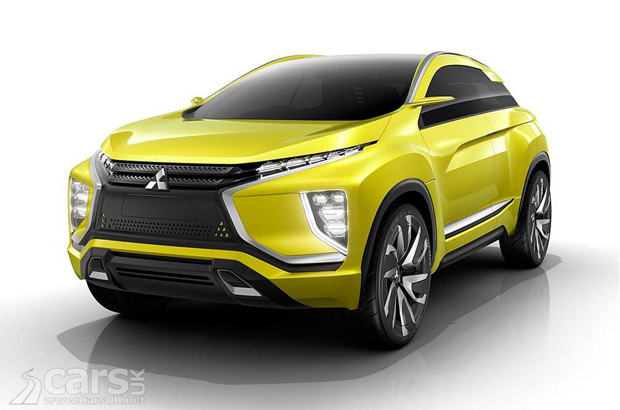 Mitsubishi EX Compact SUV Concept Photos
