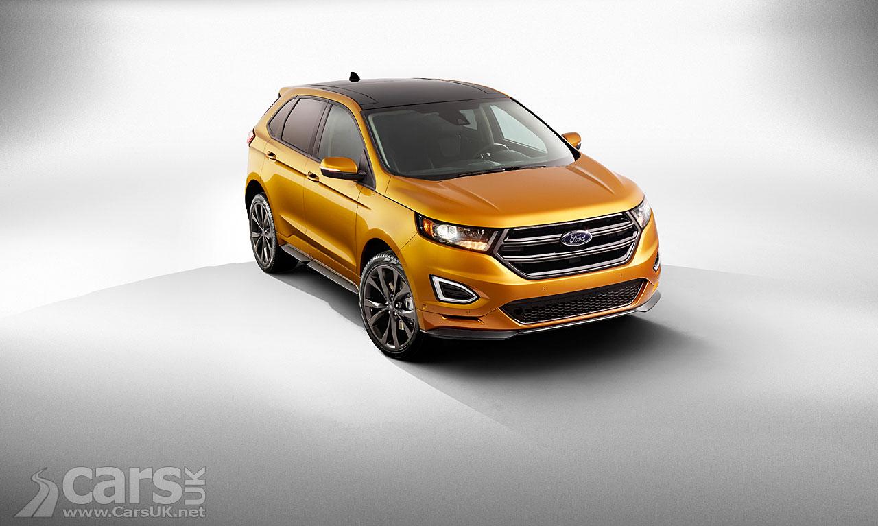 new 2015 Ford Edge SUV, a Mondeo-based SUV heading for the UK in 2015 ...