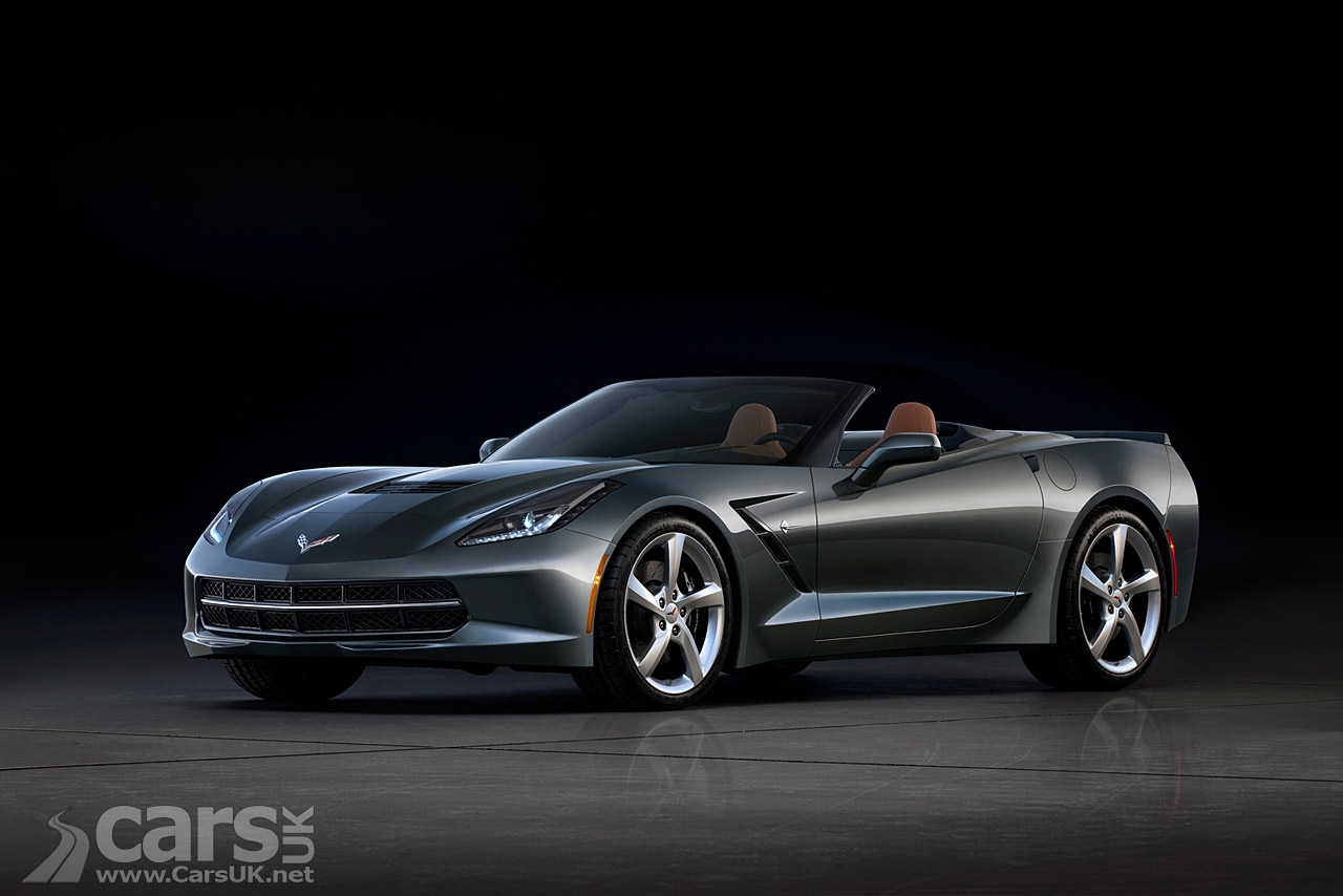New Chevrolet Corvette Stingray Convertible