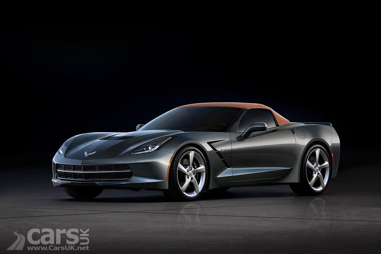 New Chevrolet Corvette Stingray Convertible