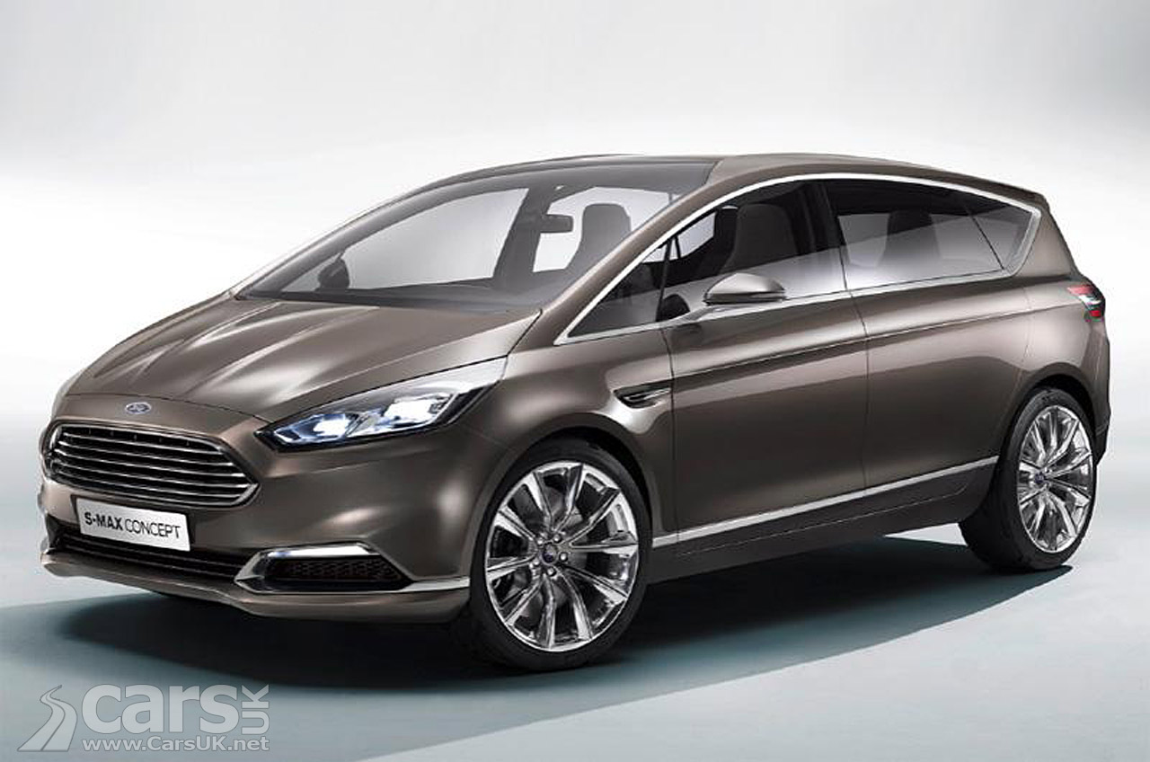 New Ford S-Max Concept Pictures | Cars UK