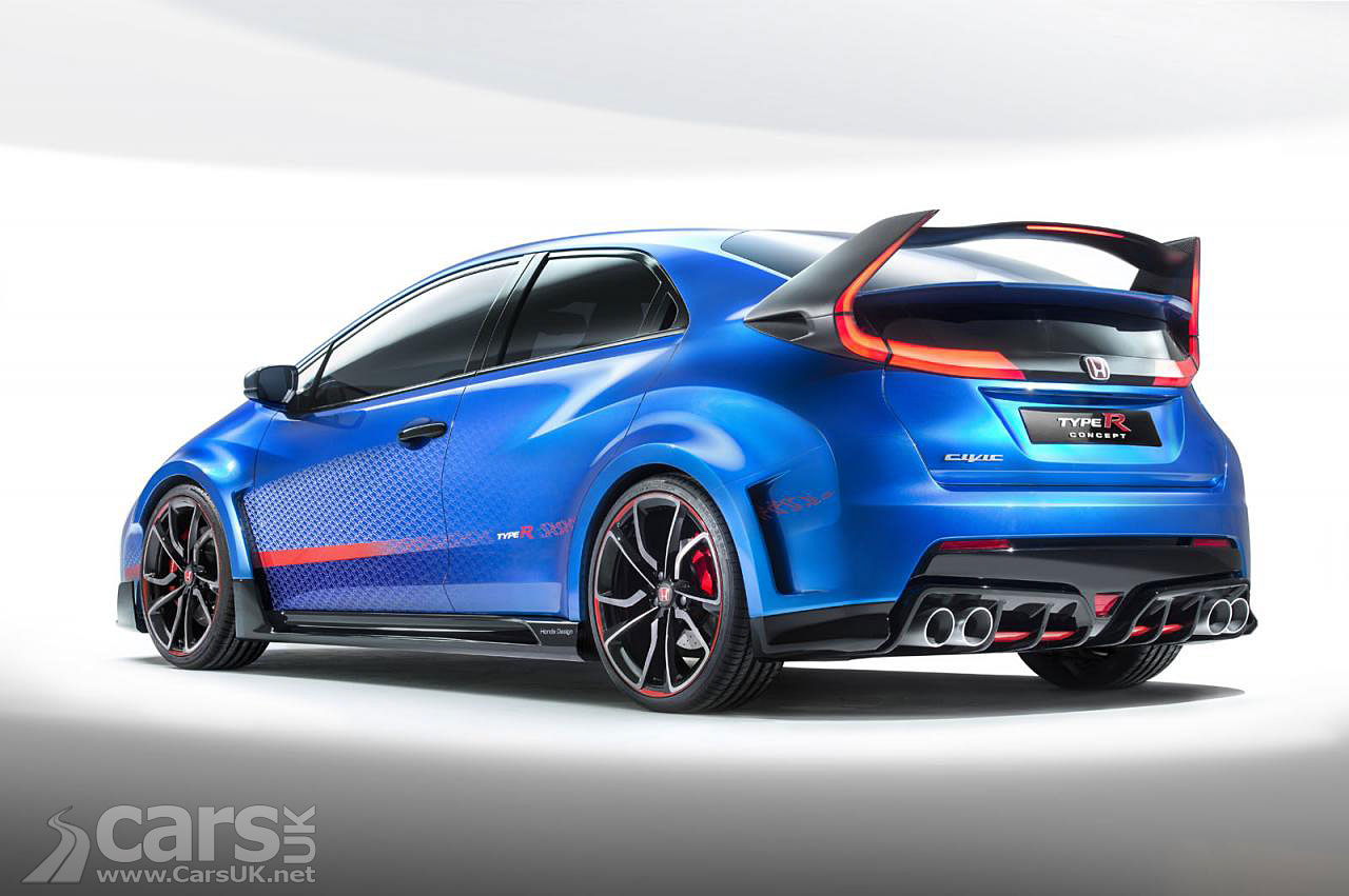 New Honda Civic Type R Concept Pictures Cars Uk