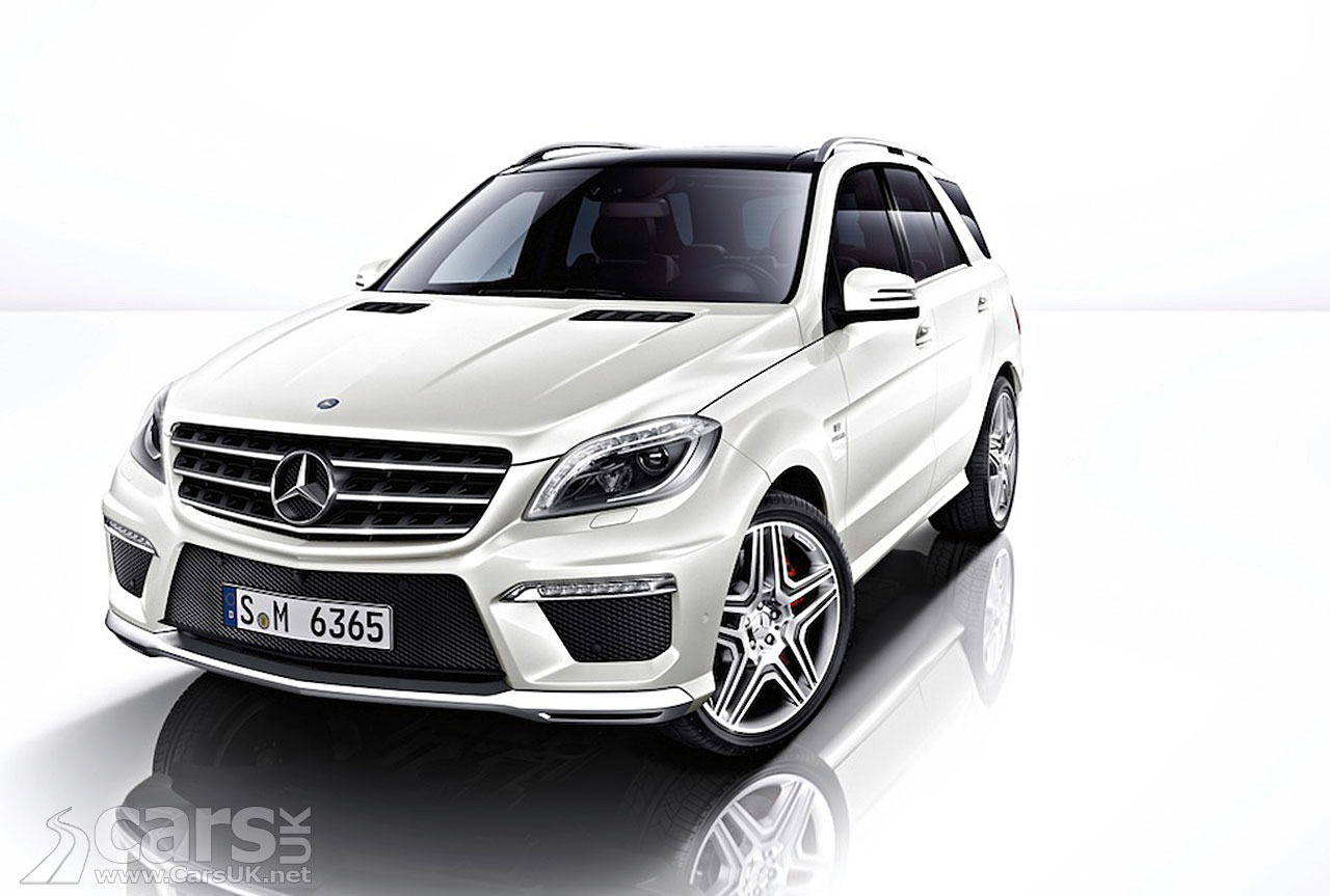 New Mercedes ML63 AMG (2012) 15