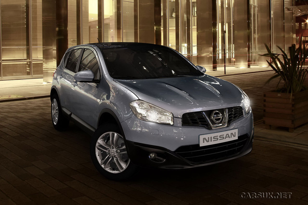 nissan qashqai 2010 first photos update models and prices. Black Bedroom Furniture Sets. Home Design Ideas