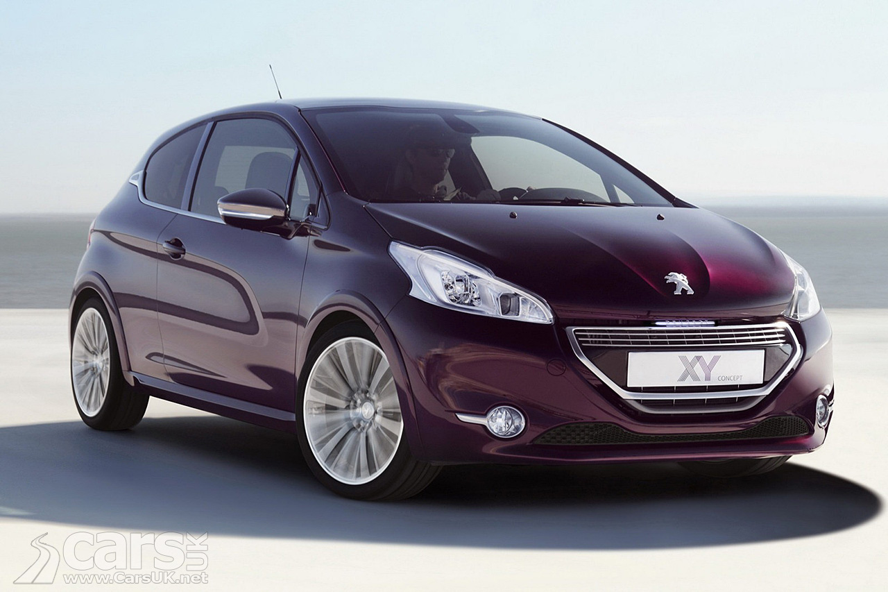 peugeot 208 xy concept photo gallery cars uk. Black Bedroom Furniture Sets. Home Design Ideas