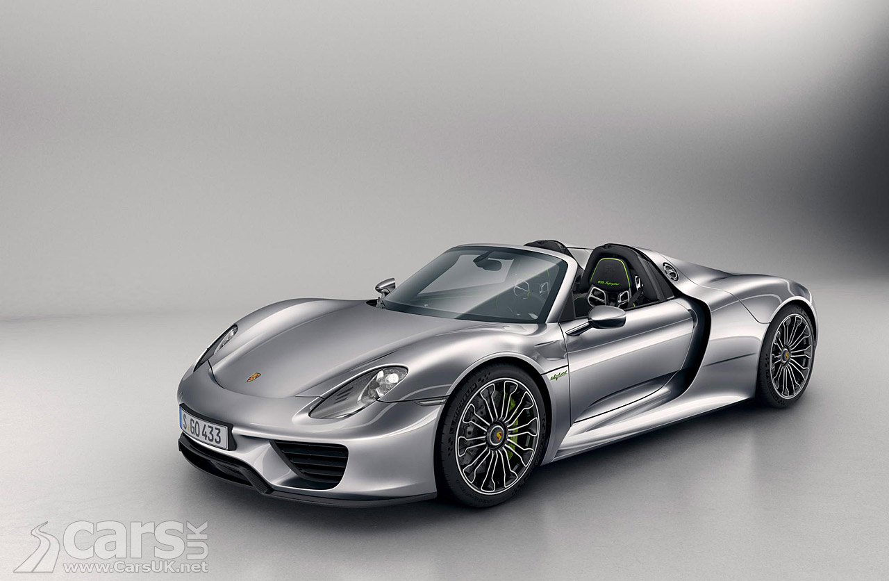 porsche 918 spyder production car pictures cars uk. Black Bedroom Furniture Sets. Home Design Ideas
