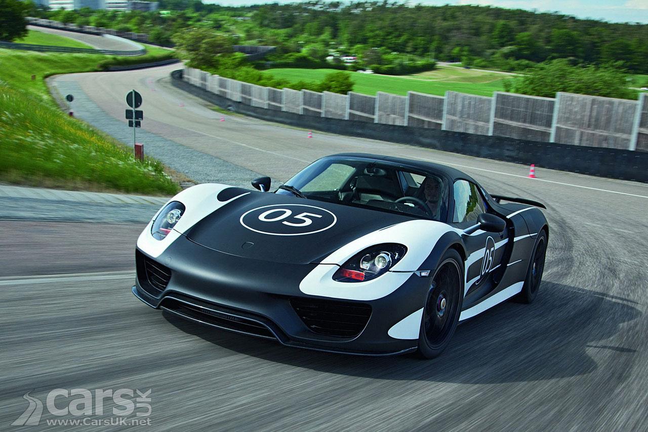 Porsche 918 Spyder Prototype Photo Gallery Cars Uk