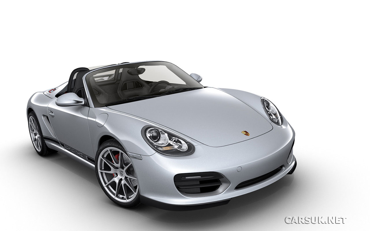 Porsche Boxster Spyder Photo