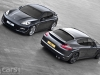 Porsche Panamera Wide Body Project Kahn overhead view