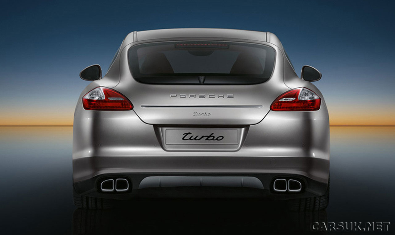 2009 Porsche Panamera Turbo rear wallpaper
