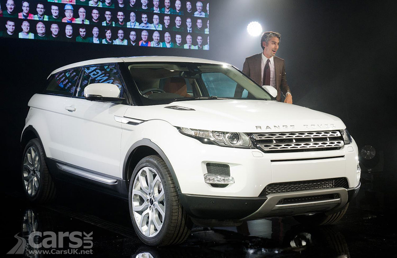 range rover evoque first production vehicle photo gallery. Black Bedroom Furniture Sets. Home Design Ideas