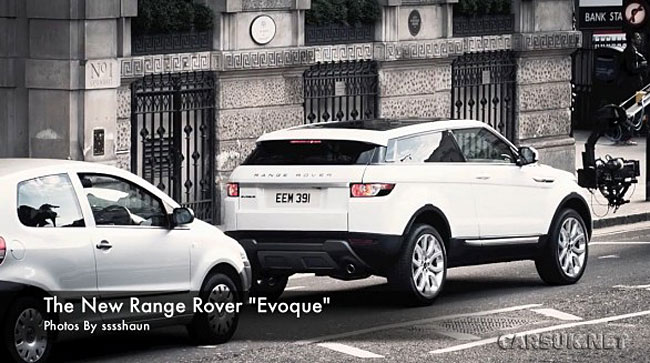 range rover evoque 39 spy 39 shots in london. Black Bedroom Furniture Sets. Home Design Ideas