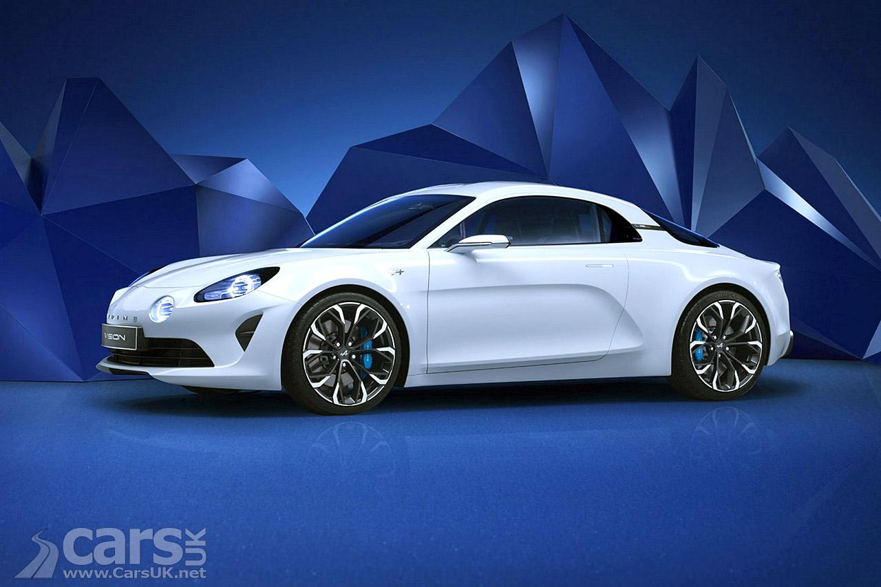 renault alpine vision concept photos cars uk. Black Bedroom Furniture Sets. Home Design Ideas