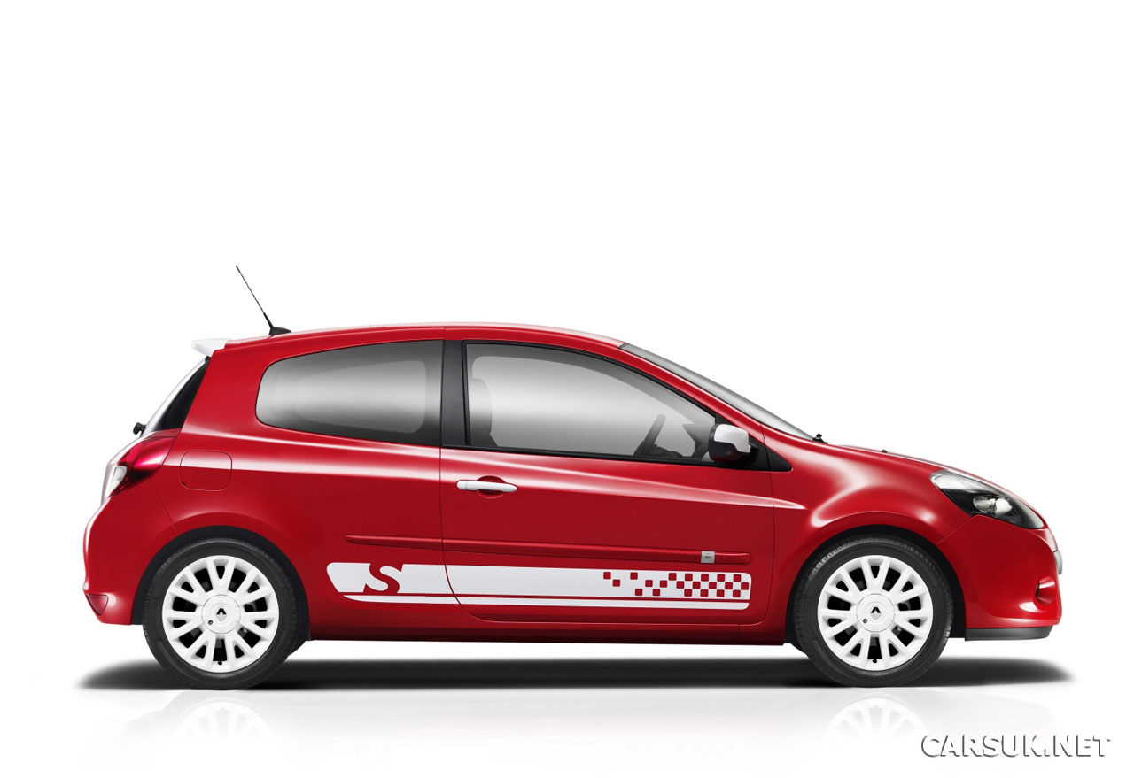 renault clio s launched. Black Bedroom Furniture Sets. Home Design Ideas