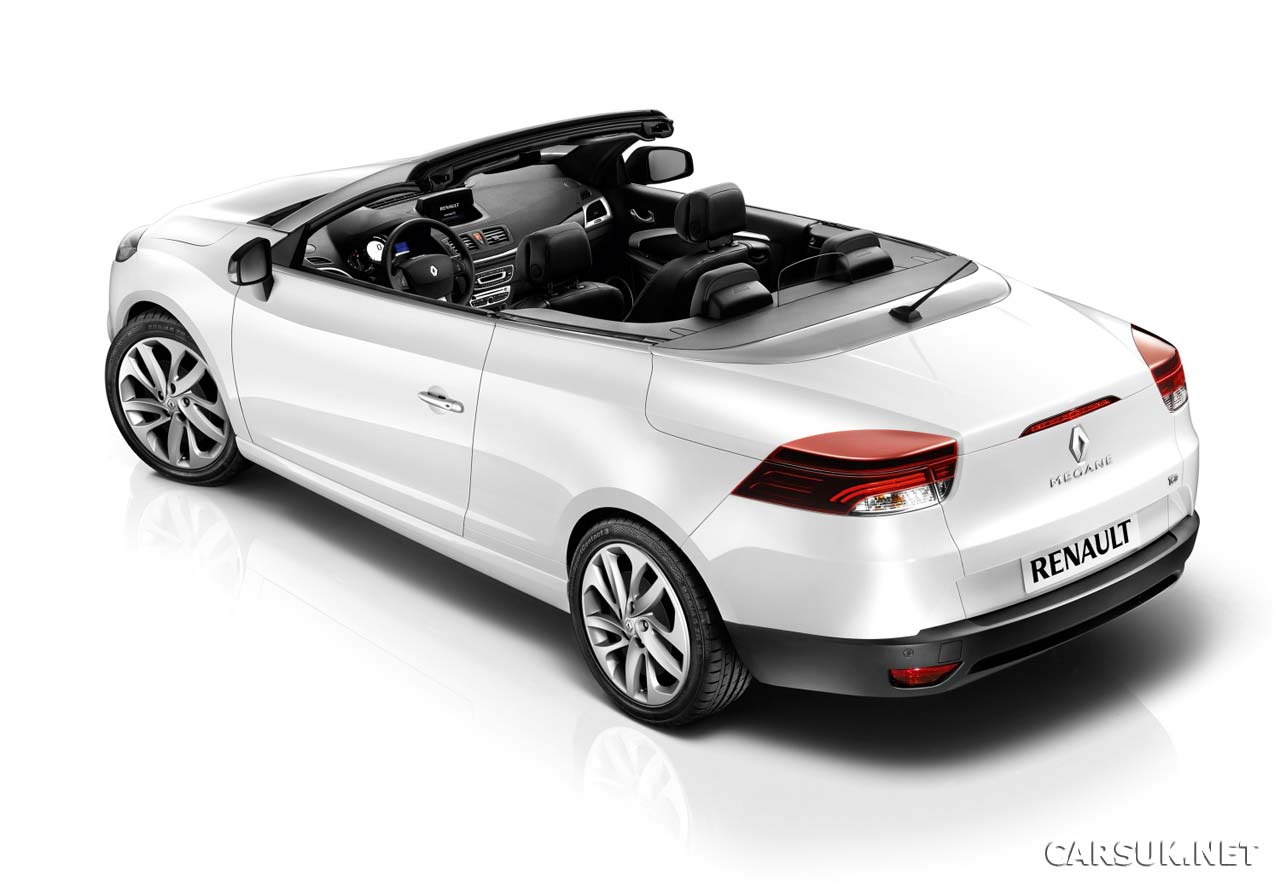 renault megane cc coupe cabriolet revealed. Black Bedroom Furniture Sets. Home Design Ideas
