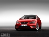 SEAT Leon SC red front image