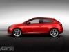 SEAT Leon SC  red side view image