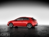 Red SEAT Leon SC side view image
