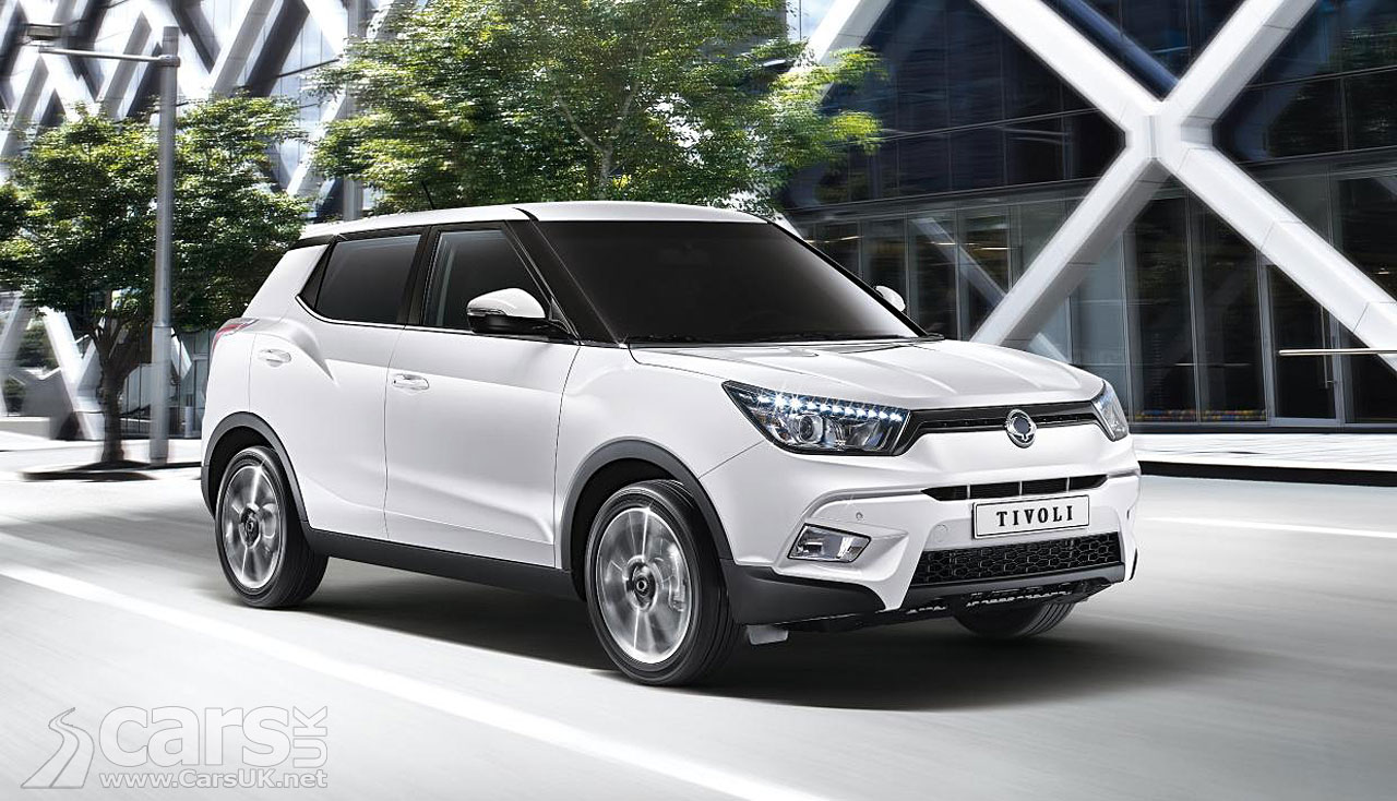 ssangyong tivoli pictures cars uk. Black Bedroom Furniture Sets. Home Design Ideas