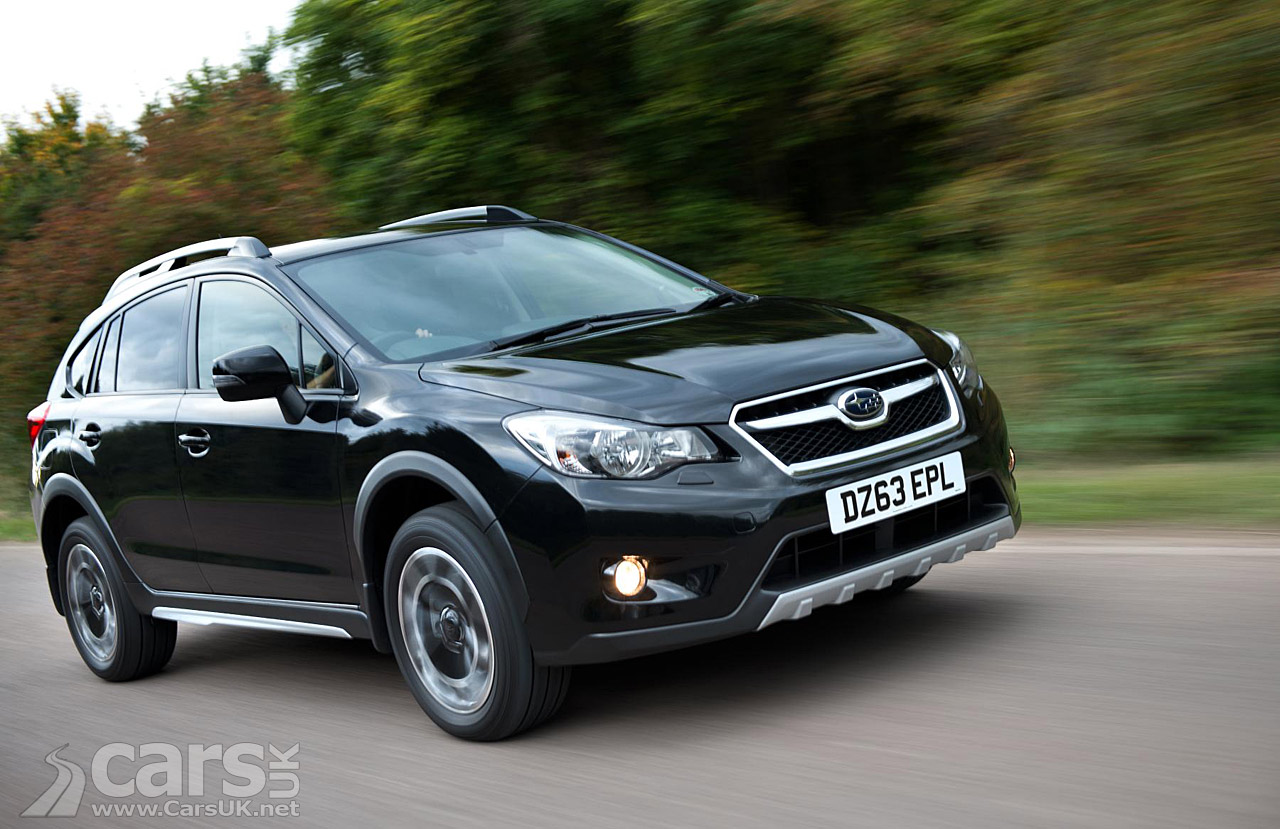 Subaru Xv Black Limited Edition Pictures Cars Uk