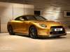 Usain Bolt Gold Nissan GT-R