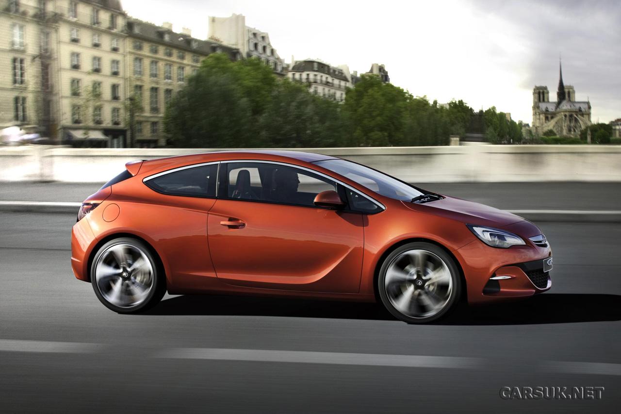 Vauxhall Astra VXR (2012) gets 282bhp + new GTC photos
