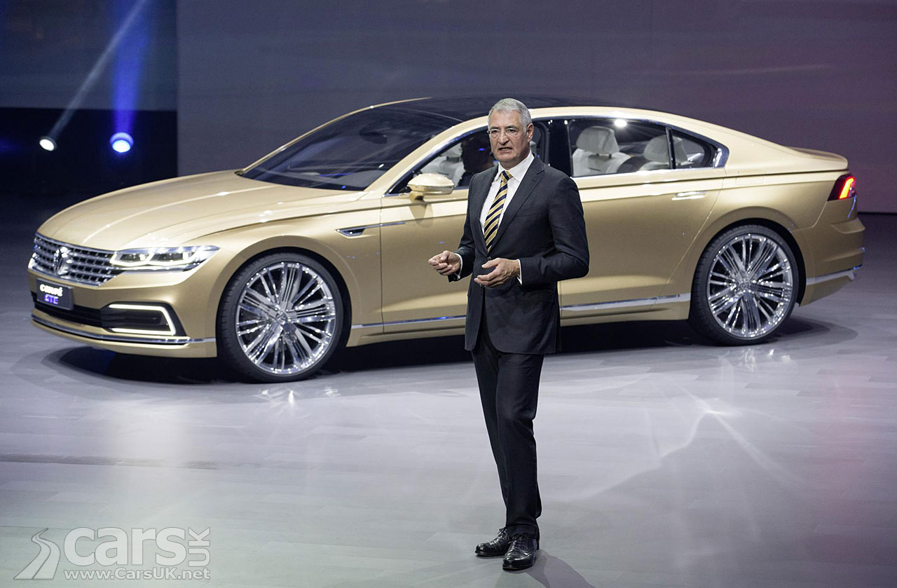 Photos of the Volkswagen C Coupe GTE, a large 4-door coupe concept ...