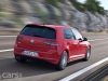 Volkswagen Golf GTD Mk 7 on road rear view image