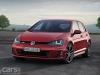 Volkswagen Golf GTD Mk 7 static front view image