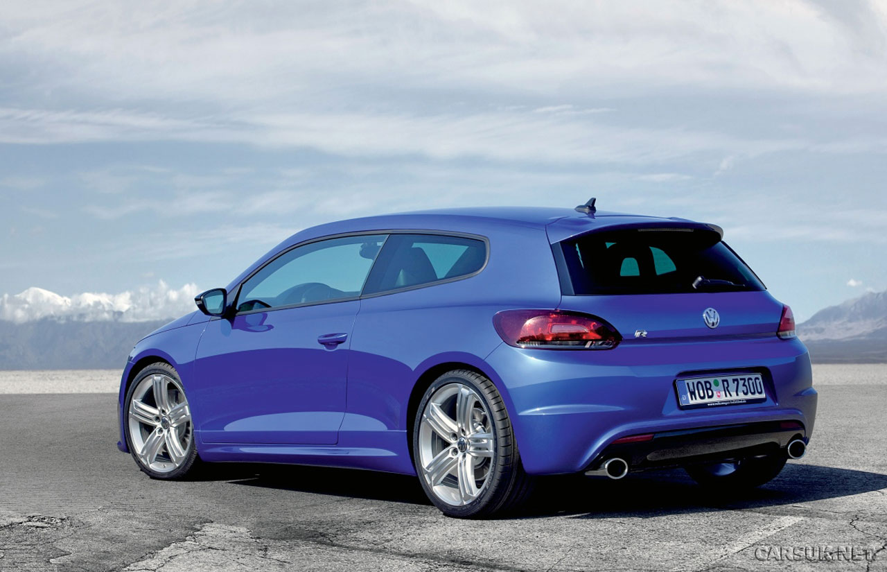 volkswagen scirocco r revealed. Black Bedroom Furniture Sets. Home Design Ideas