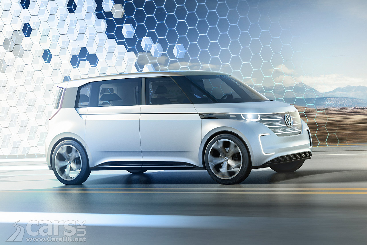 2018 Vw Bus Release Date >> Volkswagen BUDD-e Concept Photos | Cars UK