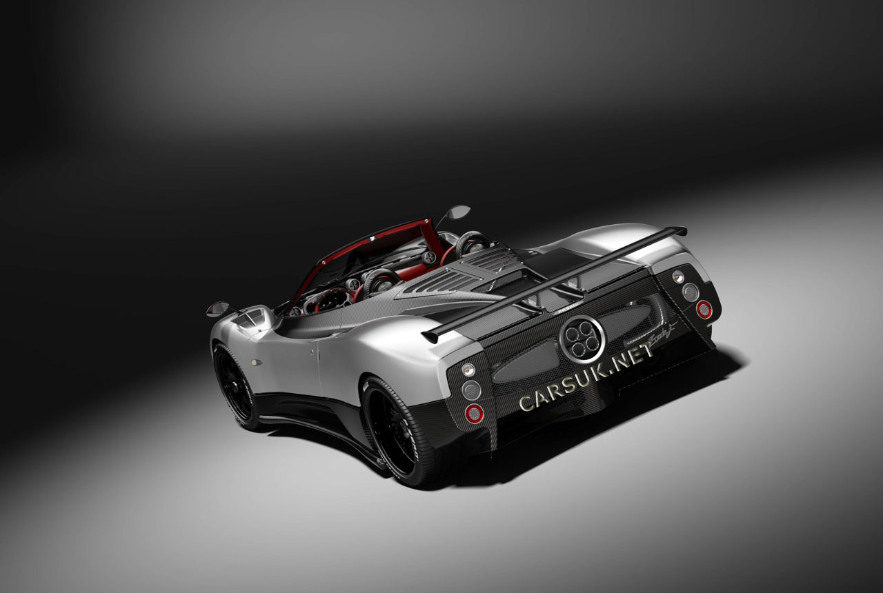 Final Zonda F Roadster for
