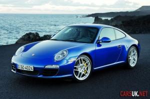 Porsche 911 down by 18% in a year
