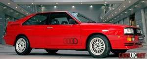 The Iconic Audi Quattro - as seen in 'Ashes to Ashes'