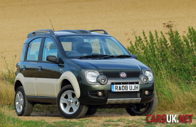 fiat panda cross wins top 4x4 award. Black Bedroom Furniture Sets. Home Design Ideas